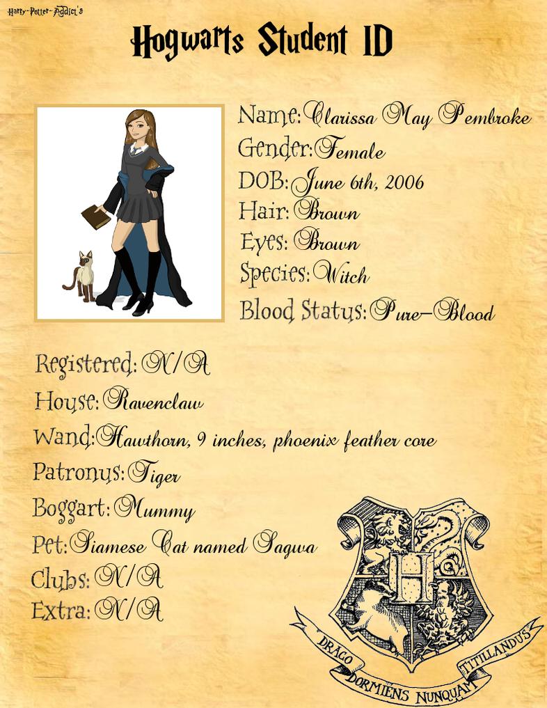 Harry Potter OC: Izzy Pembroke by I-like-band on DeviantArt