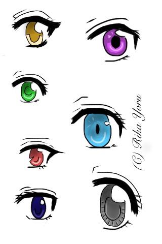 Fucking hot anime girl eyes