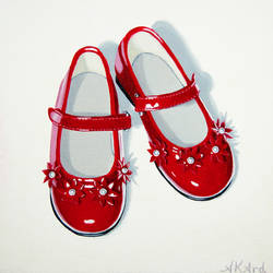 Little Red Shoes 1 of 3