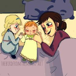 Anna's Birth by TheBirdFromTheMoon