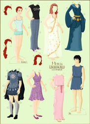 Heir to the Underworld: The Paperdolls by Valky