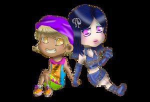 Lili and Pachi