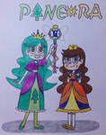 Pineora children-Cometia and Dawn