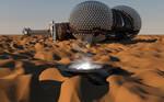 LEXX: L-05 on an unknown desert planet (Photo 2)