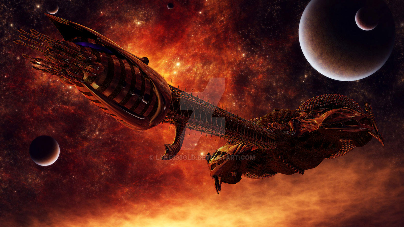 LEXX: The Inferno is under control
