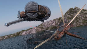 LEXX: Island capture.