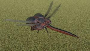 LEXX: Dragonfly shuttle (top view)