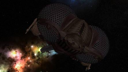LEXX in space (Giga res)