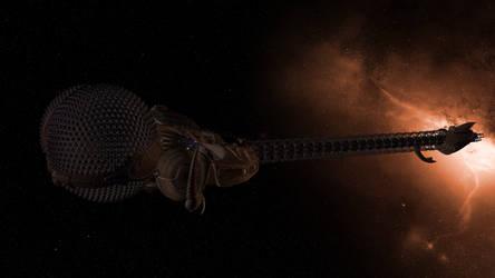 LEXX in space 2 (Giga res)