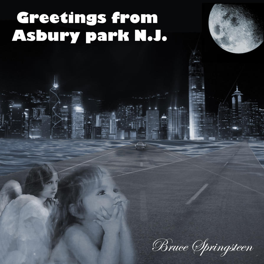 Album Cover Greetings From Asbury Park Nj 2 By Alex321432 On