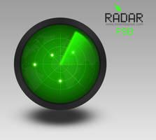 Radar Icon - inventlayout.com by atifarshad