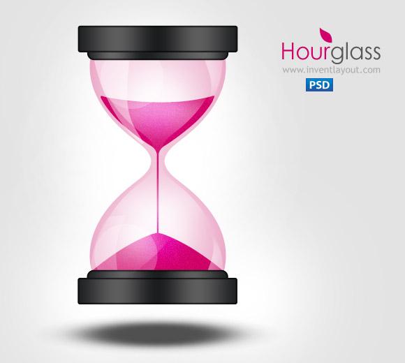 Sand Clock / Hourglass Icon by atifarshad