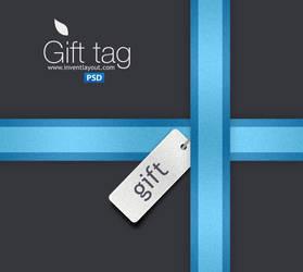 Gift Tag and Ribbon by atifarshad
