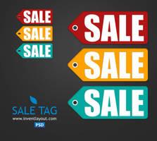 Sale Tag PSD by atifarshad