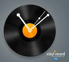 Vinyl Record Icon PSD by atifarshad