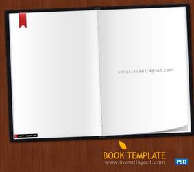 Book Template PSD by atifarshad