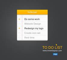 To Do List by atifarshad