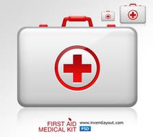First Aid Medical Kit by atifarshad