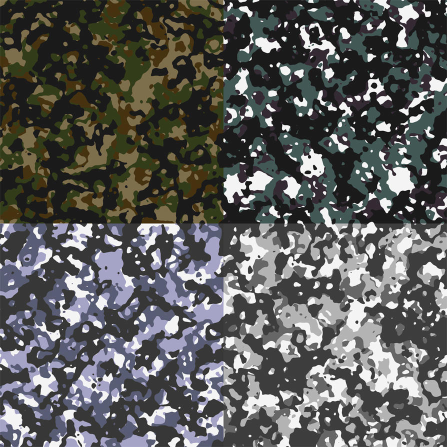 Texture Sampler: Camouflage by silverrogue