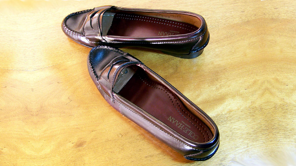 Jane s 1st penny loafers age 14 cordovan cole haan by peerlesspenny on