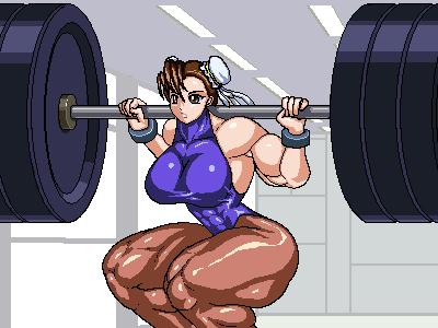Heavy Squat by RENtb