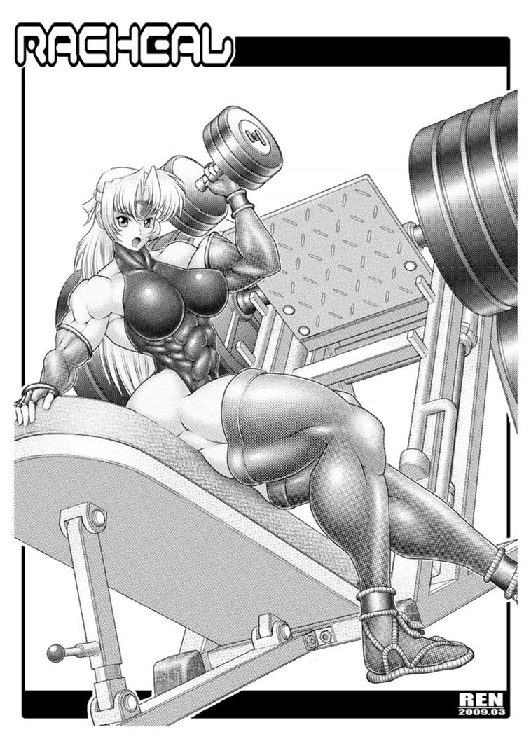 Work Out Racheal by RENtb
