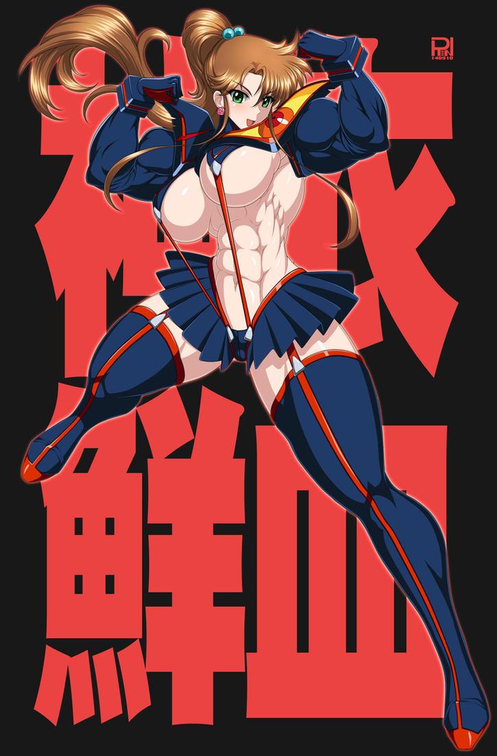 Jupitar cosplay senketsu(Kill la kill) by RENtb