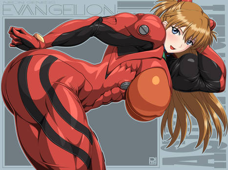 Muscle Asuka Langley