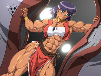 Strong Princess Nadia