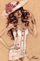 Fashion Illustration by karolina1994