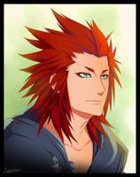 Axel (Lea) Fanart by VII-Magician