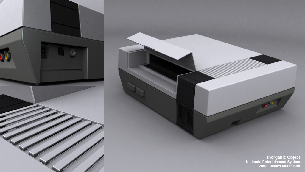 Nintendo Entertainment System by Jammurch