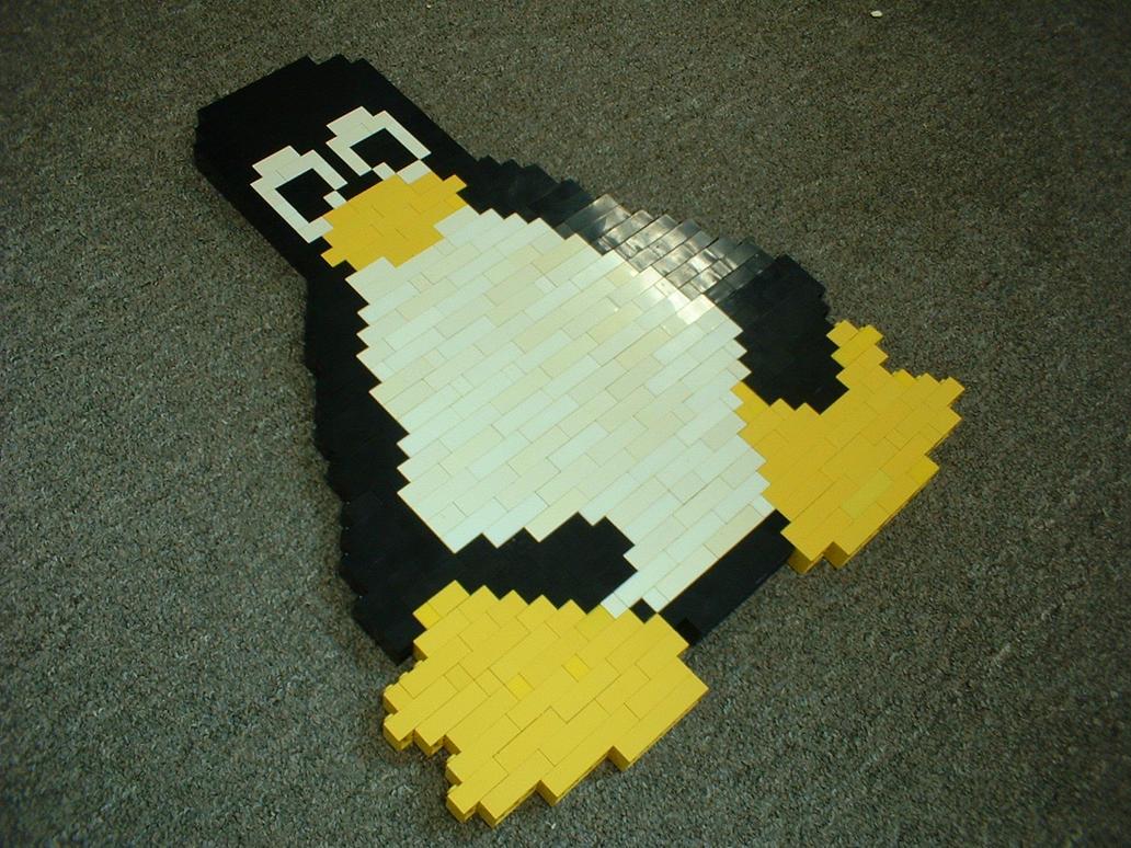 Lego Tux by Jammurch