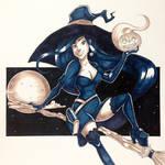 Witch by JamesRyanArt