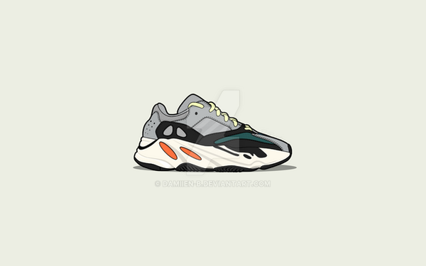 b1b594eba Yeezy Boost 700 Wave Runner by Damiien-b on DeviantArt