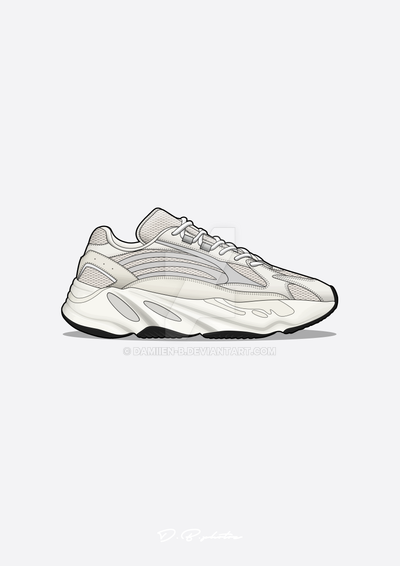 bf7c19a51 Yeezy boost 700 V2 white by Damiien-b on DeviantArt