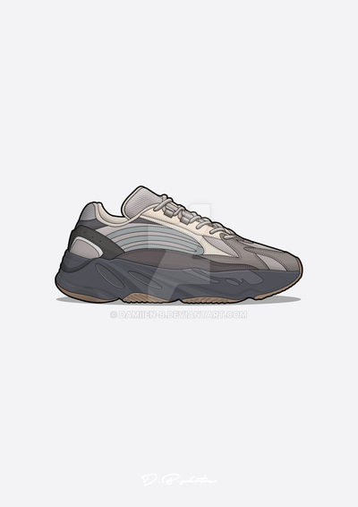 24d03f4f8 Yeezy boost 700 V2 grey by Damiien-b on DeviantArt