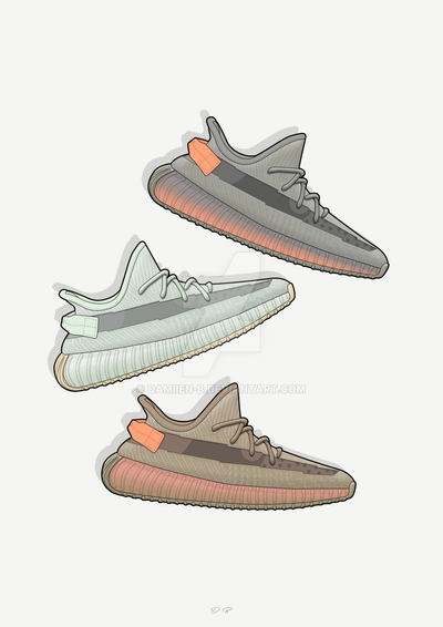 2b6b59b03 Yeezy Boost 350 Special Line Up by Damiien-b