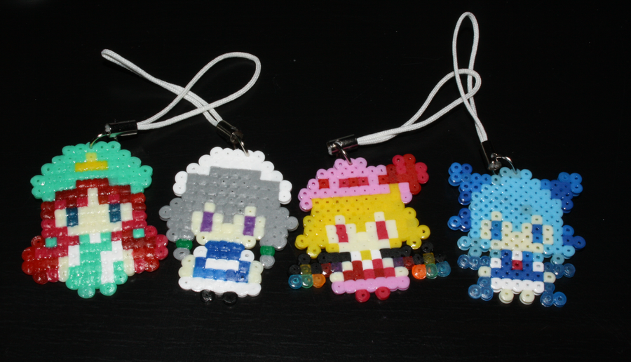 Hama- Touhou Charms Collection 1 by Charlotte-Chan