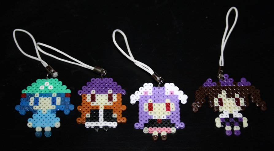 Hama- Touhou Charms Collection 2 by Charlotte-Chan