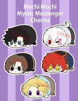 Mochi Mochi Mystic Messenger charms by Charlotte-Chan