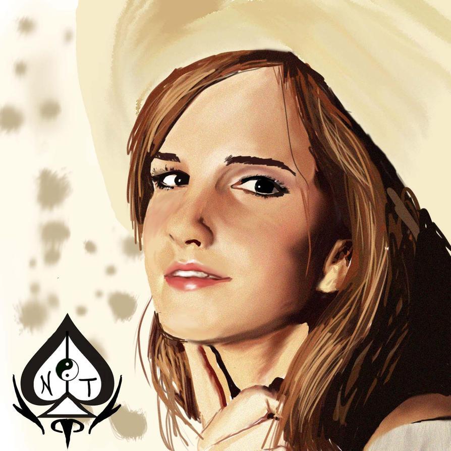 Emma Watson color by baos3113