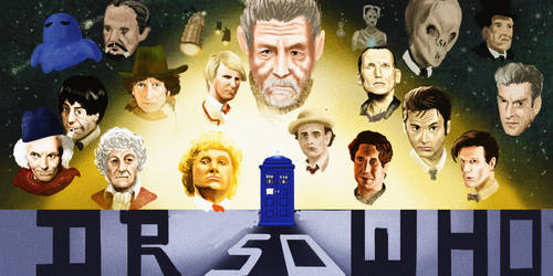 Doctor Who 50th by baos3113