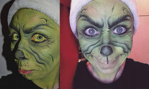 MakeUp: The Grinch.