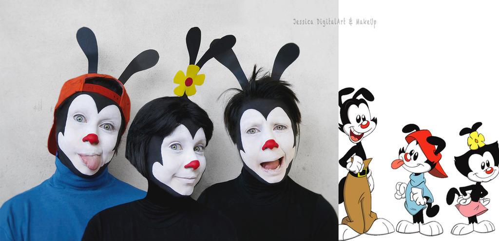 Wakko, Dot e Yakko from Animaniacs. by JessieOctober