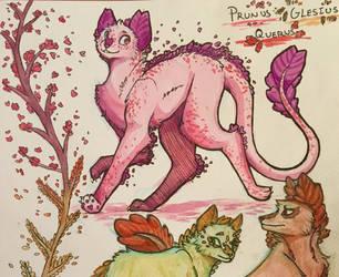 Prunus Watercolor by Emmryn