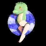 Chibi style test : Amira by SaikoStation