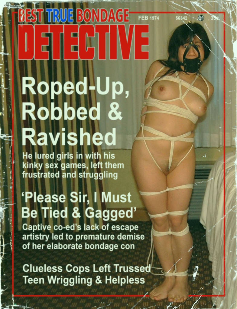 Detective magazine project #246 by PirateStann