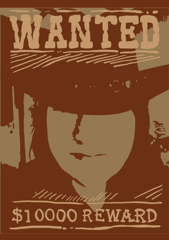 Wanted-3 by JonoBond