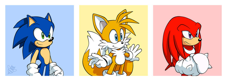 Team Sonic by CatbeeCache